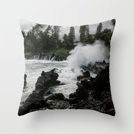 Almost to Hana Throw Pillow
