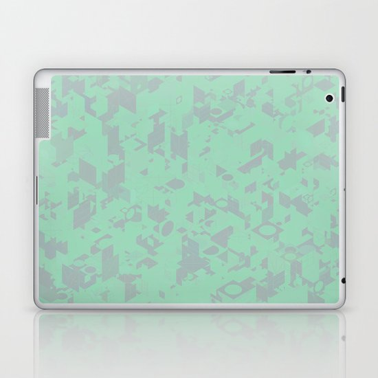 Panelscape: colours from Thorns Mint Laptop & iPad Skin