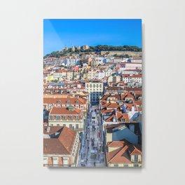 Lisboa landscape Metal Print