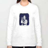 eddie vedder Long Sleeve T-shirts featuring eddie vedder by yahtz designs