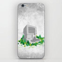 Keyboard City iPhone Skin