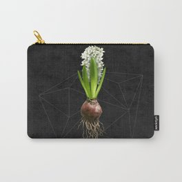 White Hyacinth Hydroponics (tryptic 2/3) Carry-All Pouch