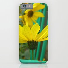 Green & Yellow Perspective iPhone 6s Slim Case