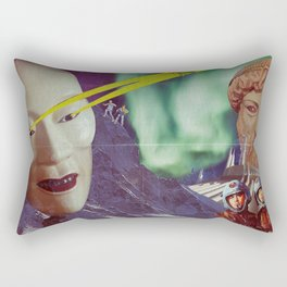 Attack of the Giant Heads! Rectangular Pillow