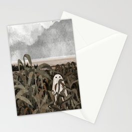 There's A Ghost in the Cornfield Again Stationery Cards