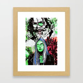 The Missing Finger of J Garcia 4 Framed Art Print
