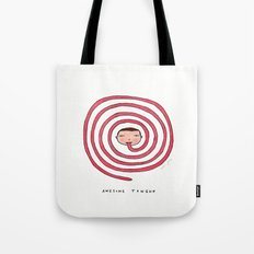 Awesome tongue Tote Bag