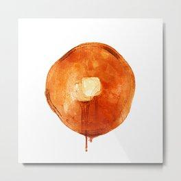 Pancake Metal Print