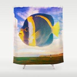 The Illogical Assumption Shower Curtain
