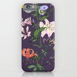 Flower mood iPhone Case