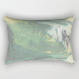 Ces Femmes  en moi Rectangular Pillow