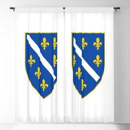 Coat of arms of Bosnia and Herzegovina Blackout Curtain