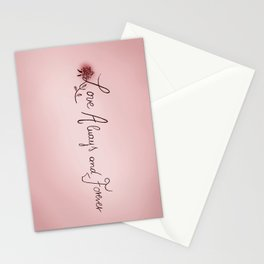Love Always & Forever Stationery Cards
