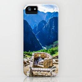 The Sun Temple iPhone Case