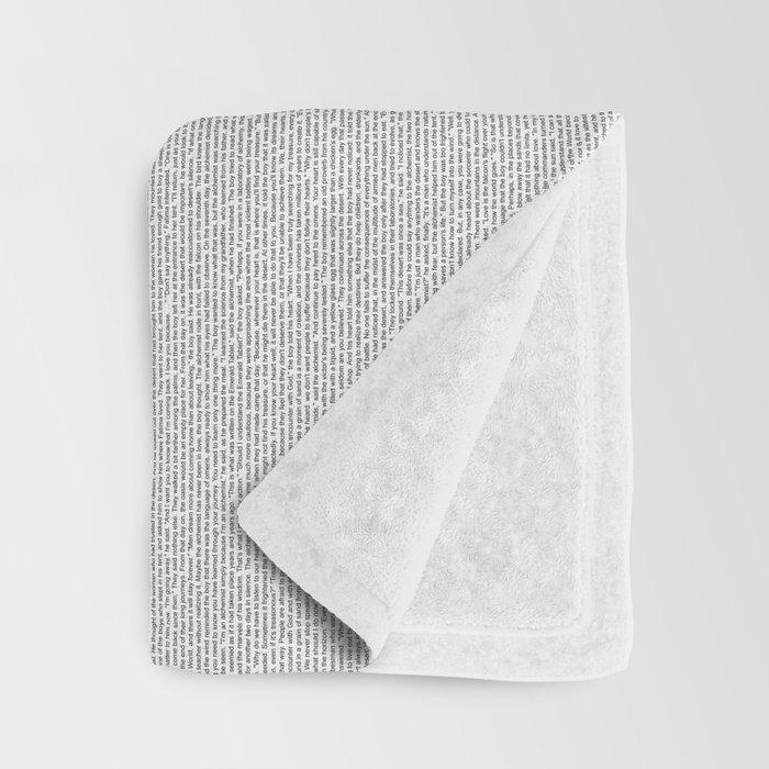 The Alchemist (full text) Throw Blanket
