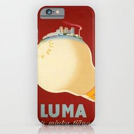 luma ogats mjuka tjanare  vintage Poster iPhone Case
