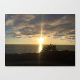 San Diego Sunset Canvas Print