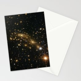 Space Stars Stationery Cards