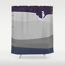 A Pail of Air Shower Curtain