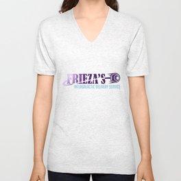 Frieza's Intergalactic Delivery Service Unisex V-Neck