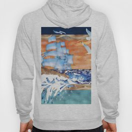 Ship Sails Out of Frame Hoody