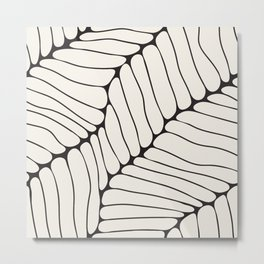 Organic Onion Cell Pattern Metal Print