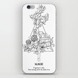 Plant Secrets: Mage iPhone Skin