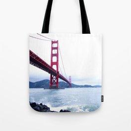 Contrast Bridge Tote Bag