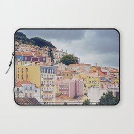 Candy coloured Lisbon Laptop Sleeve