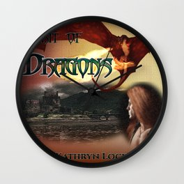 Spirit of Dragons: Alt Cover Modified Wall Clock