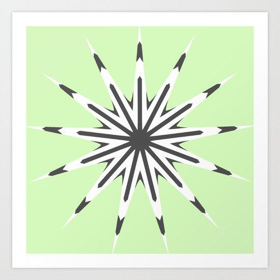 Key Lime Art Print