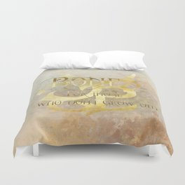 BONE for those who don't grow old. Shadowhunter Children's Rhyme. Duvet Cover