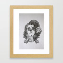 Día de Muertos 1 - the Day of the Dead Framed Art Print