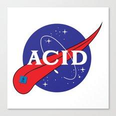ACID (FOR A FRAN) Canvas Print