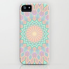 Crystal Magic - Mandala Art iPhone Case