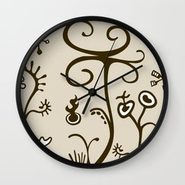 Agriculture under the influence Wall Clock