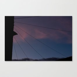 Universal connection III Canvas Print