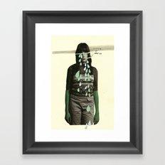 crimina et poenae Framed Art Print