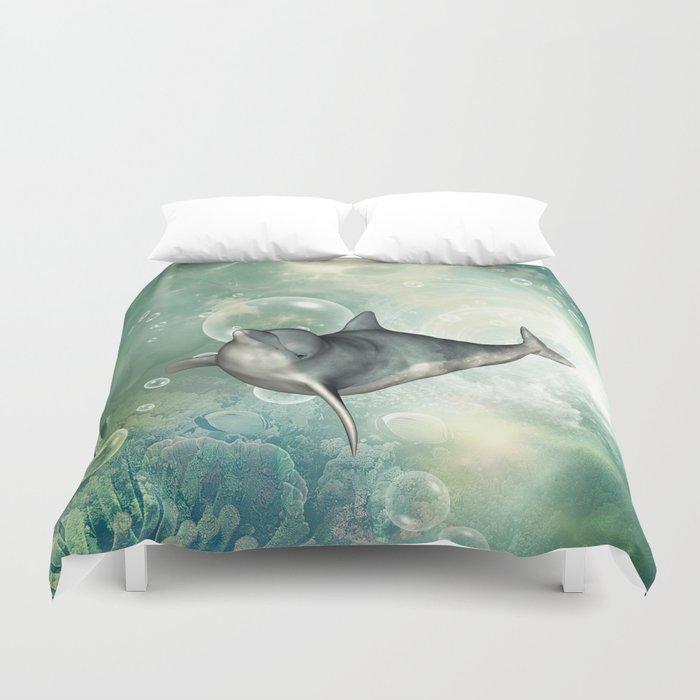 Dolphin Duvet Cover