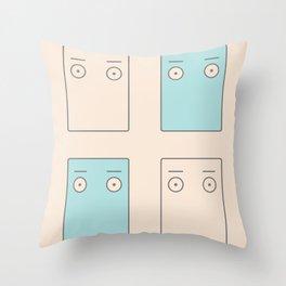 Larry Butz' shirt - Phoenix Wright Throw Pillow
