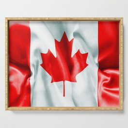 Canada Flag Serving Tray