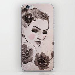 Rose Lady iPhone Skin