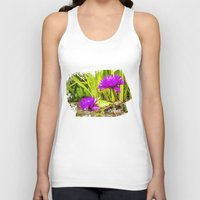 lotus flower Tank Tops featuring Lotus  by Karl-Heinz Lüpke
