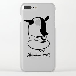 dog life Clear iPhone Case