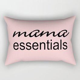 Mama Essentials Pantone 2016-Rose Quartz Rectangular Pillow
