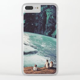 Astronomical Limits II Clear iPhone Case