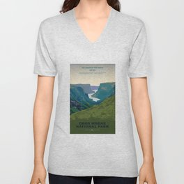 Gros Morne Unisex V-Neck