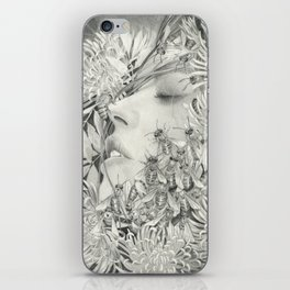 Apiphobia - Fear of Bees iPhone Skin
