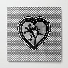 Joshua Tree Pillow Metal Print