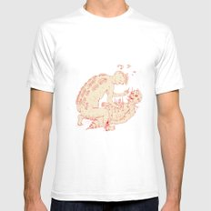 Between Two Gods Mens Fitted Tee White SMALL